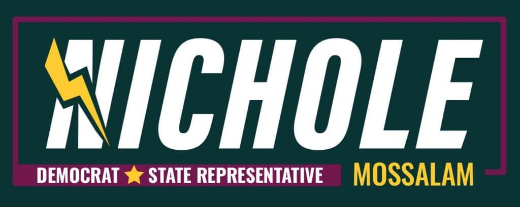 Nichole Mossalam: Democratico per Rappresentante Statale